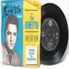 "ELVIS PRESLEY In  The Ghetto AUSTRALIA Aussie  7"" 45 RPM PS EP"