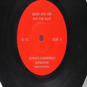 """BEATLES PAUL MC CARTNEY vs SCORPIONS  MALAYSIA Jukebox Promo7 """" 45 RPM"""