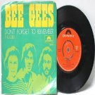 """BEE GEES Don't Forget To Remember POLYDOR  ASIA 7"""" 45 RPM PS"""