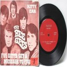 """THE BEE GEES Kitty Can  MALAYSIA  Asian JARGUAR 7"""" 45 RPM PS EP"""