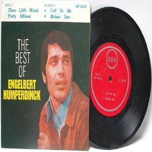 "Best of ENGLEBERT HUMPERDINCK  ASIA 7"" 45 RPM PS"