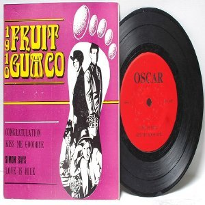 "1910 FRUIT GUM CO Love Is Blue HEATHER  ASIA 7"" 45 RPM PS EP"