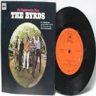 """THE BYRDS  Mr. Tambourine Man BOOB DYLAN CBS INTERNATIONAL Asia  7"""" 45 RPM PS EP"""