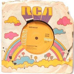 "ELVIS PRESLEY Burning Love SINGAPORE RCA ASIA 7"" 45 RPM"