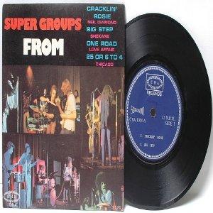 "SUPERGROUPS Shekane LOVE AFFAIR CBA  ASIA 7"" 45 RPM PS EP"