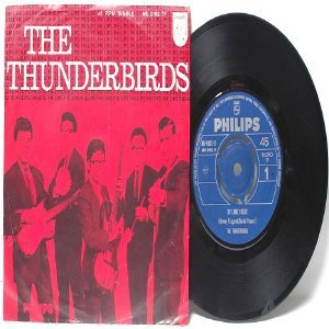 "ASIAN 60s BAND The Thunderbirds HEY GIRL! Phillips INTERNATIONAL 7"" 45 RPM PS"
