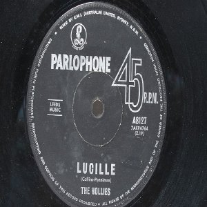 "THE HOLLIES Little Lover PARLOPHONE AUSTRALIA Aussie 7"" 45 RPM"