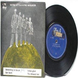 "PIETRO ATILLA & THE WARLOCKS INTERNATIONAL  ASIA 7"" 45 RPM PS EP"