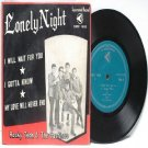 """Asian Elvis ROCKY TEOH & THE CASTINOS Lonely Night ASIA 7"""" 45 RPM PS EP"""