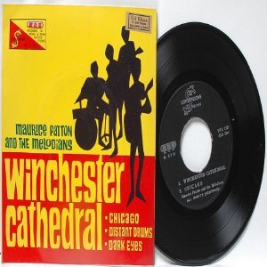"""ASIAN 60s BAND The Melodians WINCHESTER CATHEDRAL  Asia 7"""" 45 RPM PS EP"""