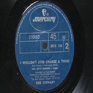 "ROD STEWARD & MIKE D'ABO Handbag & Gladrags INTERNATIONAL Mercury  7"" 45 RPM"