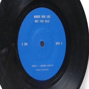 "GEORGE MICHAEL  Freedom SHEENA EASTON MALAYSIA Jukebox Promo 7 "" 45 RPM"