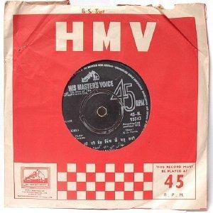 "BOLLYWOOD INDIAN PUNJABI Ramesh Rangila Sudesh Kapoor HMV   7"" 45 RPM 1972"