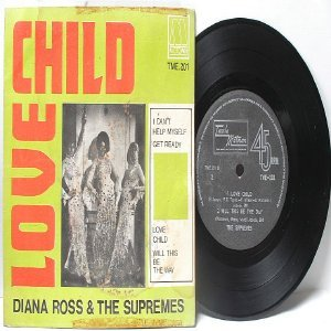 "DIANA ROSS & THE SUPREMES I Can't Help Myself  INTERNATIONAL Motown  7"" 45 RPM PS"