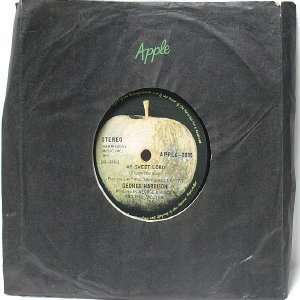 "GEORGE HARRISON My Sweet Lord INTERNATIONAL Apple  7"" 45 RPM"
