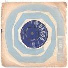 """LOS BRAVOS Black is Black ENGLAND Decca  7"""" 45 RPM"""