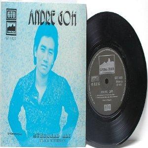 "Asia 60s Singer ANDRE GOH Muhammad Ali BLACK SUPERMAN  7"" 45 RPM PS EP"
