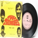 """THE TREMELOES vs CHER Malaysia  ASIA 7"""" 45 RPM PS EP"""