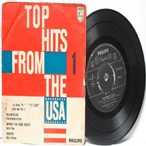 "TOP HITS USA Billy Walker DORIS DAY International PHILLIPS 7"" 45 RPM PS EP"