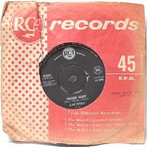 "ELVIS PRESLEY Wooden Heart TONIGHT IS SO RIGHT FOR LOVE  Australia AUSSIE Oz 7"" 45 RPM"