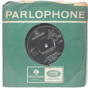 "THE BEATLES I Am The Walrus PARLOPHONE GT. BRITAIN  7"" 45 RPM  1967"