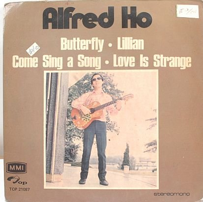 """ALFRED HO Asian Ray Charles 4TRACK 7"""" EP 45 RPM - ASIA"""