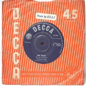 "ROLLING STONES  Ruby Tuesday DECCA Hong Kong  ASIA 7"" 45 RPM"