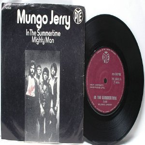 "MUNGO JERRY In The Summertime SINGAPORE Asia 7"" 45 RPM PS"