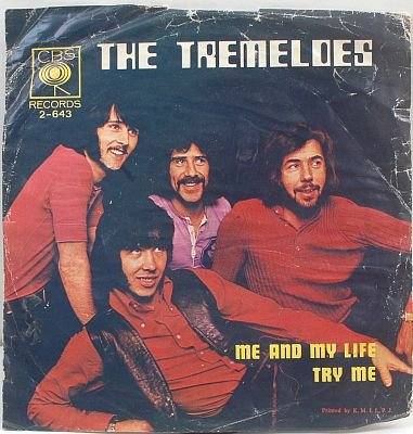 """TREMELOES Me And My Life ASIA 7"""" PS 1970 CBS"""