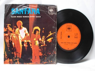 "SANTANA Black Magic Woman ASIAN  CBS  7"" 45 RPM PS EP"