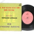 "THE TOWERING INFERNO Oscar ACADEMY AWARD MALAYSIA 7"" 45 RPM PS EP"