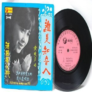 "70s CHINESE DIVA  Singer SONGSTRESS  WITH THE BROTHERS HAWK  7"" PS EP HE 1983"