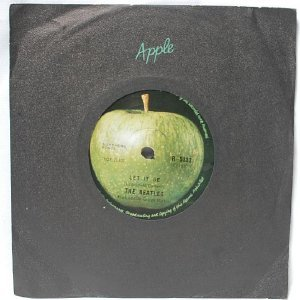 "BEATLES Let It Be  INTERNATIONAL Apple7"" 45 RPM"