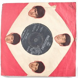 "BEATLES I Want To Hold Your Hand PARLOPHONE  India  7"" DIY Cover  1963"