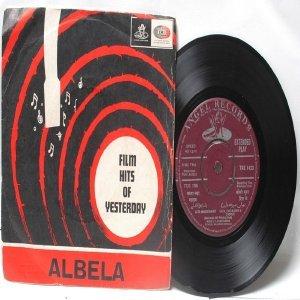 "BOLLYWOOD INDIAN  Albela C. RAMCHANDRA Lata Mangeshkar  7"" 45 RPM EMI Angel EP 1968"