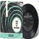 """BOLLYWOOD INDIAN  Anari SHANKER JAIKISHAN Lata Mangeshkar  7"""" 45 RPM EMI Angel EP"""