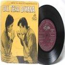 "BOLLYWOOD INDIAN  Dil Tera Diwana SHANKAR JAIKISHAN Mohd. Rafi"" 45 RPM EMI Angel EP 1963"