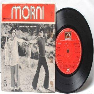 "BOLLYWOOD INDIAN  Morni HANSRAJ BAHL Asha Bhosle 7"" 45 RPM HMV EP"