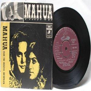 "BOLLYWOOD INDIAN  Mahua SONIK OMI Asha Bhosle MOHD. RAFI  7"" 45 RPM Angel EP 1969"