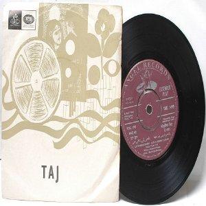 "BOLLYWOOD INDIAN  Taj LATA MANGESHKAR Hemant Kumar  7"" 45 RPM Angel EP 1968"