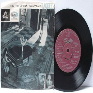 "BOLLYWOOD INDIAN  Tagdeer LAXMIKANT PYARELAL Mohd. Rafi  7"" 45 RPM EMI Angel EP 1967"