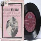"BOLLYWOOD INDIAN  Mere Sanam O.P. NAYYAR Asha Bhosle 7"" 45 RPM Angel EP 1965"