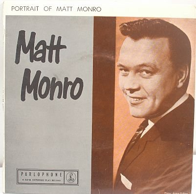 "Portrait of MATT MONRO Australian 7"" PS EP Parlophone"