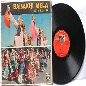 BOLLYWOOD INDIAN  Baisakhi Mela & Heer Ranjha EMI Odeon INDIA LP