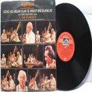CLASSICAL INDIAN  Ustad Ali Akbar Khan & Pandit Ravi Shankar HMV Red Label  INDIA LP