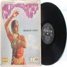CLASSICAL INDIAN  Vyjayanthimala BHARATA NATYA  EMI Odeon INDIA LP