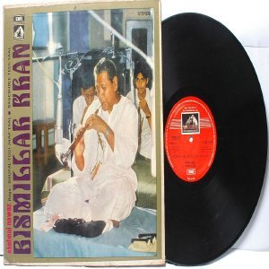CLASSICAL INDIAN  Bismillah Khan SHEHNAI NAWAZ  EMI HMV Red Label  INDIA LP