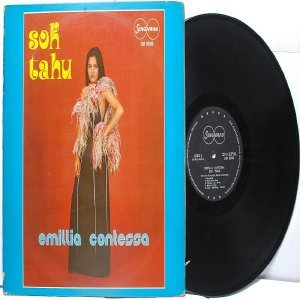 Malay Indon  70s Pop EMILIA CONTESSA   Sok Tahu LP  Singamas