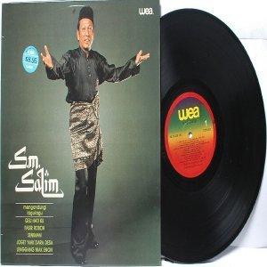 Malay  Legendary  70s Pop  Singer S.M. SALIM WEA LP  1979