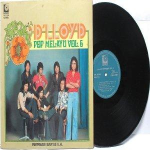 Malay  Indon 70s Pop  Band D'LLOYD vol. #6 LP LIFE HM 1204